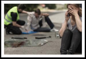 Trauma nach Unfall